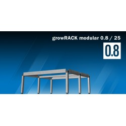 growRACK modulaire 0,8 / 25