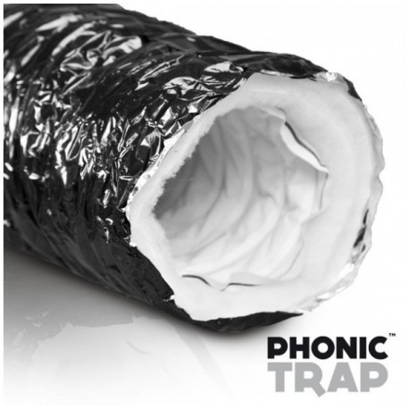 Gaine Phonic Trap 3M - Ø127mm Prédécoupé