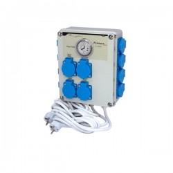 Relais GSE Timer Box 12 X 600W