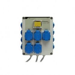 Relais GSE Timer Box 12 X 600W + chauffage
