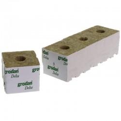 Grodan Carton Cubes laine de roche 7.5x7.5x6.5cm 384x cubes