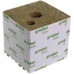 Grodan carton Cubes laine de roche 15x15x13.5cm Big Block