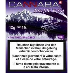 CBD Cannaba Trim Purple 10gr.