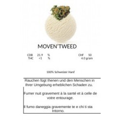 CBD Moven`Tweed 4gr.