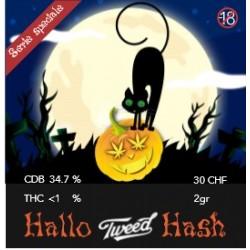 Hallo Tweed Hash 2gr. 34,7% CBD