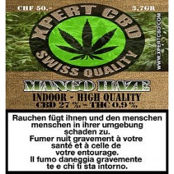 Xpert CBD Mango Haze 3,7gr. Intérieur 27% CBD
