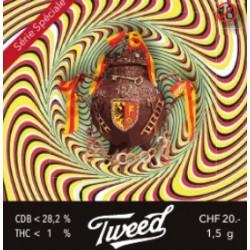 CBD Hallo Tweed 1,5gr. Intérieur 27,7% CBD