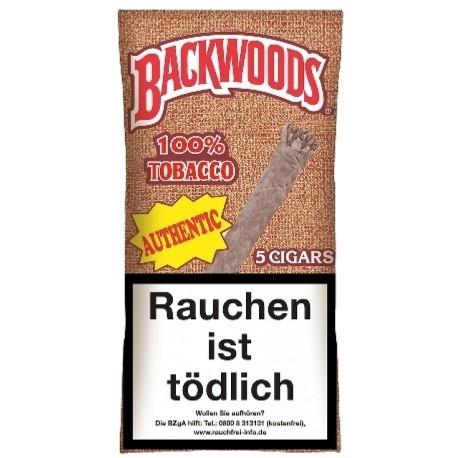 Backwoods Blunts Authentic 5pcs.