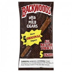 Backwoods Blunts Original 5pcs.