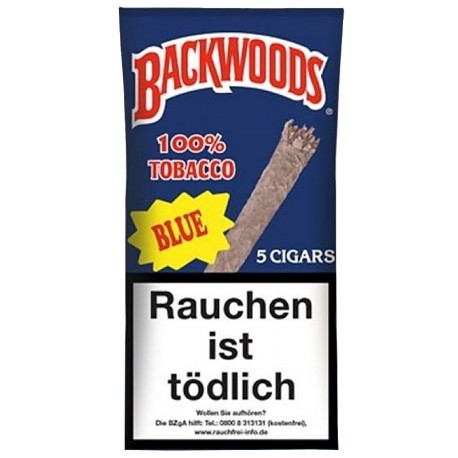 Backwoods Blunts Blue 5pcs.