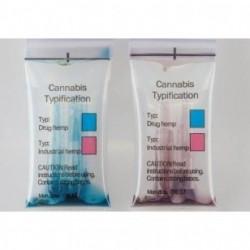 Controle rapide fleurs de cannabis