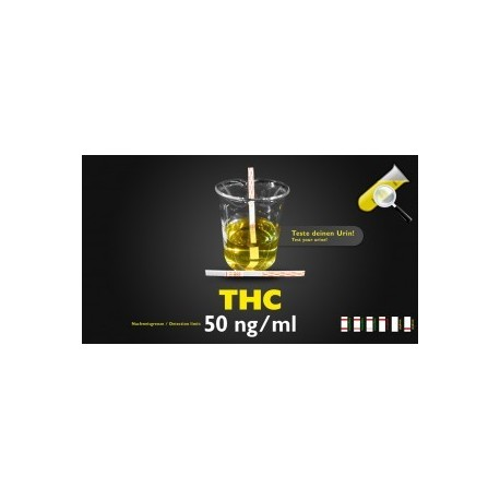 THC test d'urine 50ng