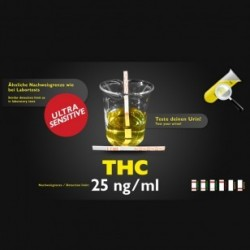 THC test d'urine sensible 25ng
