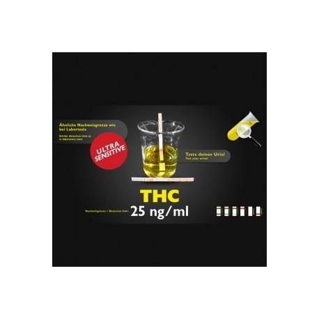 THC test d'urine sensible 25ng