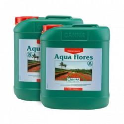 Canna Aqua Flores A+B 2x5 litres